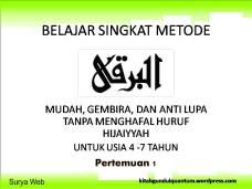 BELAJAR SINGKAT METODE1