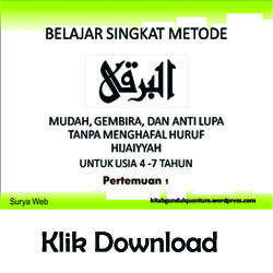 Download Metode Mengajar Al Barqy