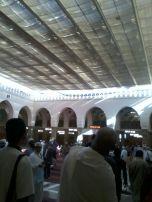 Suasana menuju makam Rasulullah SAW